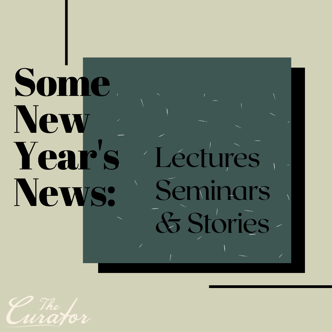 Lectures, Seminars. Some New Year's News.